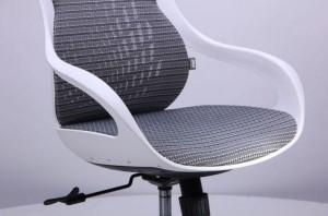 фото Кресло Art Metal Furniture Колибри белый/сетка серая (X-10) (259167) #8