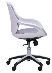 фото Кресло Art Metal Furniture Колибри белый/сетка серая (X-10) (259167) #4