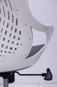 фото Кресло Art Metal Furniture Колибри белый/сетка серая (X-10) (259167) #7