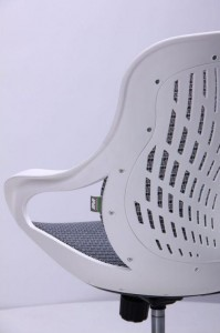 фото Кресло Art Metal Furniture Колибри белый/сетка серая (X-10) (259167) #9