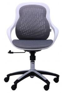 фото Кресло Art Metal Furniture Колибри белый/сетка серая (X-10) (259167) #5