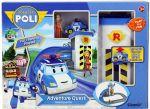 фото Трек с подъемником Silverlit 'Robocar Poli' (машинка Поли и фигурка Джин в комплекте) (83316) #4