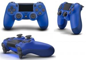 Геймпад беспроводной Sony PlayStation Dualshock V2 Wave Blue