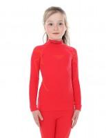 Детская термофутболка с длинным рукавом Brubeck Thermo raspberry 152/158 (LS13650-raspberry-152/158)