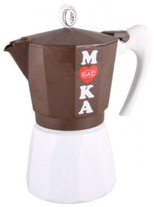 Гейзерная кофеварка на 9 чашек GAT Golosa (172109)