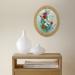 фото Картина 'Полевые цветы' 178x218 мм, масло, холст (овал) #3