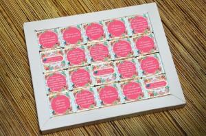 фото Шоколадный набор Shokopack из 20 плиток 'Для самой неповторимой' #2