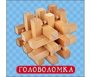 Деревянная игрушка. Головоломка-3 (ИД-4193)