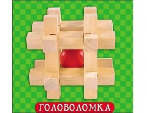 Деревянная игрушка. Головоломка-4 (ИД-4194)