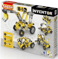 Конструктор Engino 'Inventor' 16 в 1 'Строительная техника' (1634)
