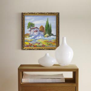 фото Картина 'Сиена' 230x230 мм, масло, холст #3