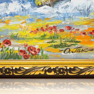 фото Картина 'Сиена' 230x230 мм, масло, холст #2