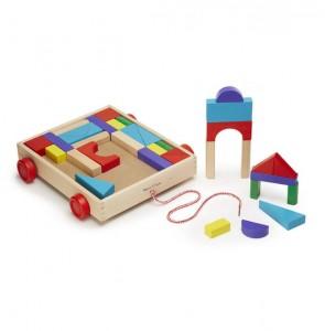 фото Набор деревянных блоков на тележке (MD14209) #3