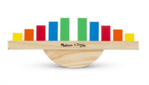 Деревянный баланс Melissa & Doug 'Радуга' (MD15197)