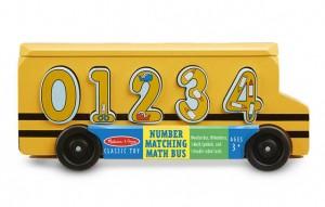 Деревянный школьный автобус-сортер Melissa & Doug 'Счет' (MD19398)