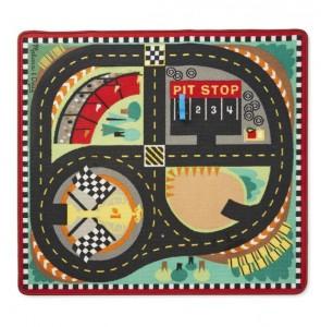 Игровой коврик с машинками Melissa & Doug 'Гоночная трасса' (MD19401)