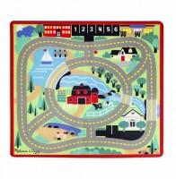 Игровой коврик с машинками Melissa & Doug 'Городская дорога' (MD19400)