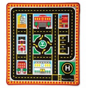 Игровой коврик с машинками Melissa & Doug 'Спасательные автомобили' (MD19406)