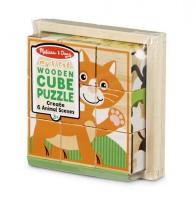 Кубики Melissa & Doug 'Животные' (MD3769)
