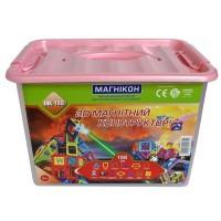 3D магнитный конструктор Магникон 198 деталей (МК-198)