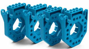 Аксессуар для Dash & Dot Wonder Workshop 'Building Brick Connectors' (1-BB01-01)