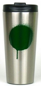Термочашка Starbucks 'Tumbler - Graffiti Green Dot', 473 ml (‎011041162)