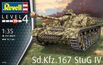 Сборная модель Revell 'Самоходная артиллерийская установка Sd.Kfz. 167 StuG IV' 1:35 (03255)