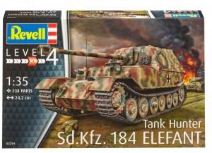 Сборная модель Revell 'Самоходная артиллерийская установка Sd.Kfz. 184 Elefant' 1:72 (03254)