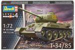 Сборная модель Revell 'Танк T-34/85' 1:72 (03302)