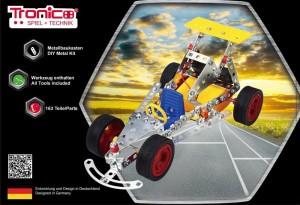 фото Конструктор металлический на батарейках Tronico 'Гоночная машинка' 163 детали (9755-2) #2