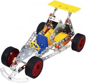 Конструктор металлический на батарейках Tronico 'Гоночная машинка' 163 детали (9755-2)