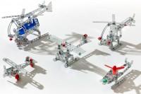Конструктор металлический Tronico 5 в 1 'Воздушное пространство' 209 деталей (10270-2)