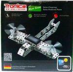 Конструктор металлический Tronico 'Самолет на солнечной батарее' 129 деталей (9605-2)
