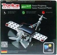Конструктор металлический Tronico 'Самолет на солнечной батарее' 69 деталей (9605-1)