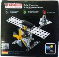Конструктор металлический Tronico 'Самолет на солнечной батарее' 98 деталей (9735-2)