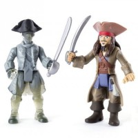 Набор фигурок Spin Master The Pirates of the Caribbean Джек и призрак экипажа 7.5 см (SM73101-4)