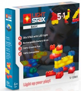 Конструктор Light Stax 'Basic' с LED подсветкой (LS-S12001)