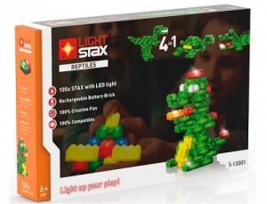 Конструктор Light Stax 'Reptiles' с LED подсветкой (LS-S13001)