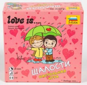Настольная игра Звезда 'Love is… Шалости' (8956)