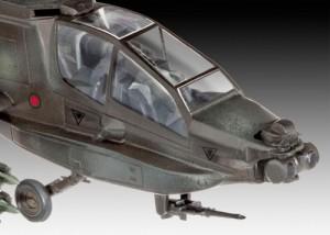 фото Модель для сборки Revell 'Вертолет AH-64A Apache, 1:100' (04985) #2