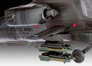 фото Модель для сборки Revell 'Вертолет AH-64A Apache, 1:100' (04985) #5