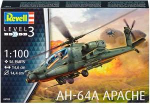 МОДЕЛЬ ДЛЯ СБОРКИ REVELL 'ВЕРТОЛЕТ AH-64A APACHE, 1:100'
