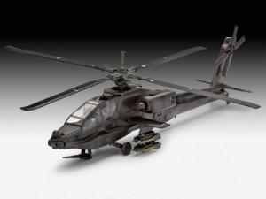 фото Модель для сборки Revell 'Вертолет AH-64A Apache, 1:100' (04985) #4