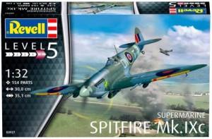 Модель для сборки Revell 'Истребитель Supermarine Spitfire Mk.IXc, 1:32' (03927)