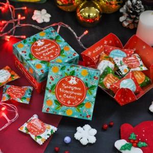 Подарок Шоколадный куб 'Казкових Свят'