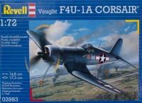 Модель для сборки Revell 'Палубный истребитель F4U-1A Corsair; 1:72' (03983)