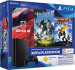 Приставка Sony PlayStation 4 Slim 500 Gb Black (игры Driveclub, Ratchet-an'-Clank, Horizon Zero Dawn и подписка PlayStation-Plus в подарок) (официальная гарантия)