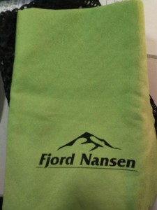 фото Походное полотенце Fjord Nansen Tramp Light L Herbal Green towel (00000007222) #2