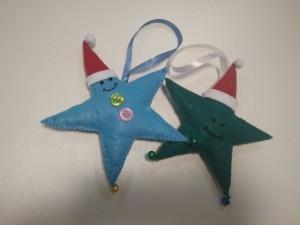фото Елочная игрушка ручной работы 'Звезда' (с колокольчиками) #2