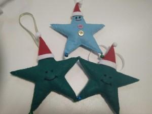 фото Елочная игрушка ручной работы 'Звезда' (с колокольчиками) #11